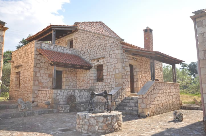 Stone Built House with two bedrooms - Chania - Hus