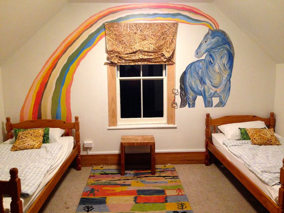 the Blue Horse Room for 2