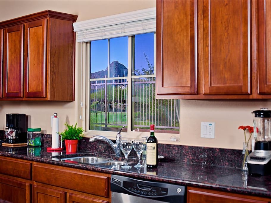 Picturesque views from the windows. Stunning landscape surrounds community.