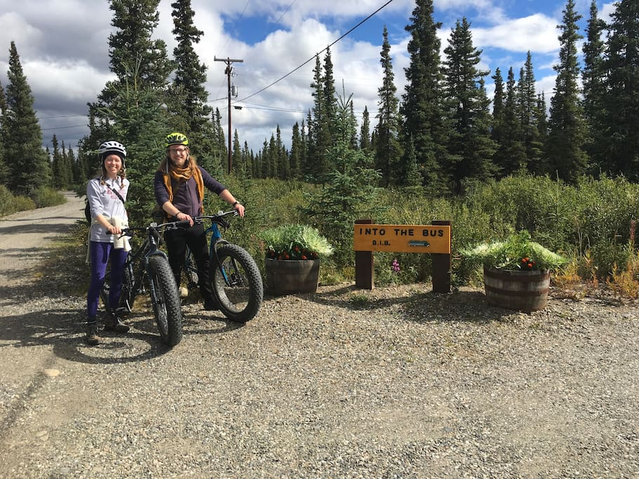 His and hers Fat tire bikes
