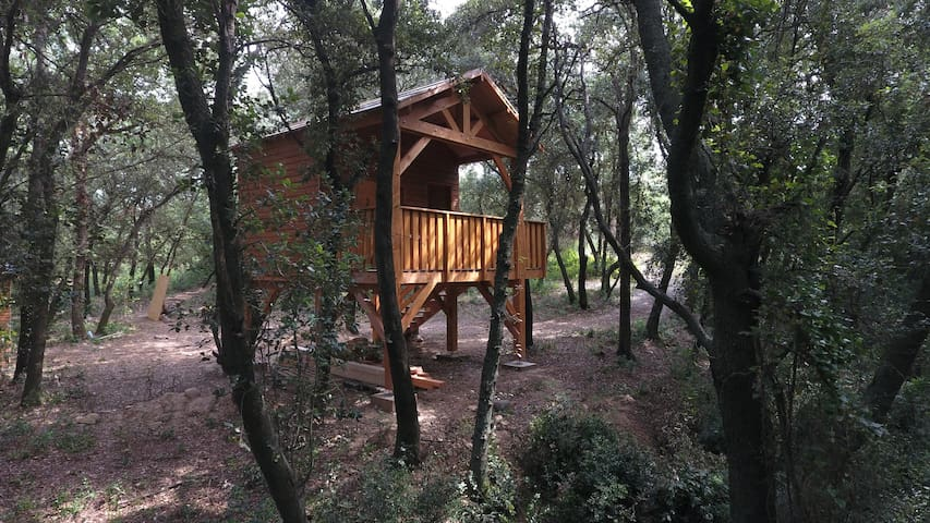 "Cabin on Trees ""The Pascale"" close to Perpignan"