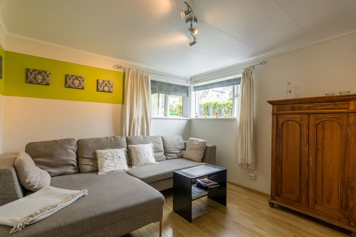 Apartment close to center of town in a quiet area
