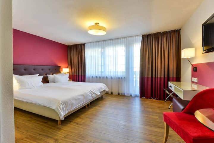 Flair Hotel Vier Jahreszeiten, (Bad Urach), Doppelzimmer Wohlfühl