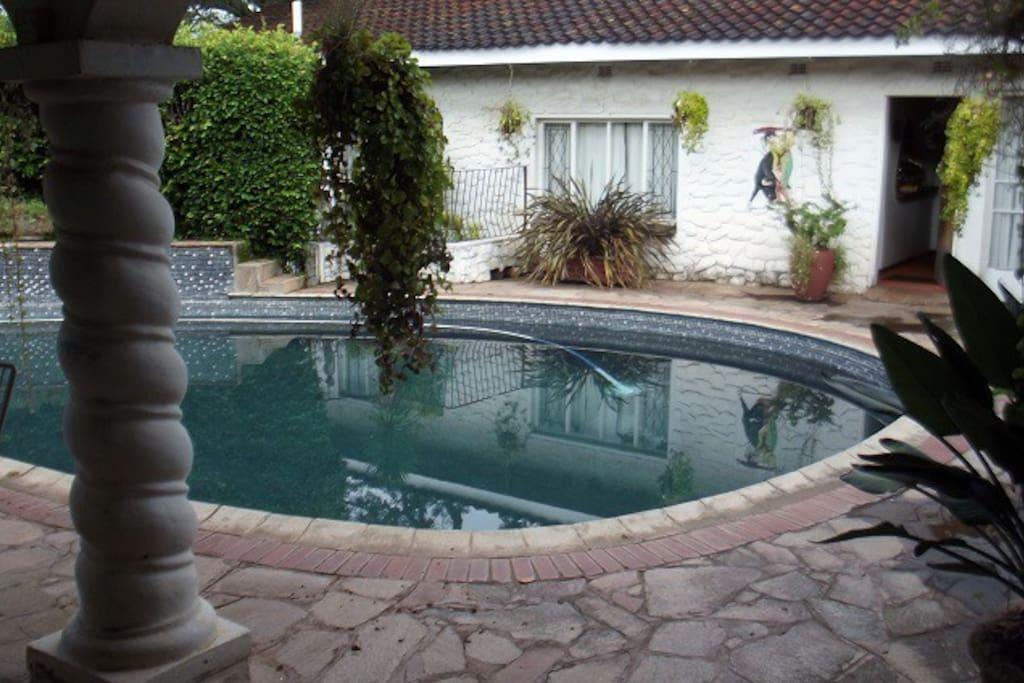 Use of swimming pool