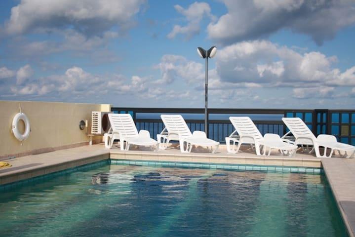 The Horizon 1 Bedroom A/C,Wi-Fi, Pool & Views - Mellieha - Wohnung