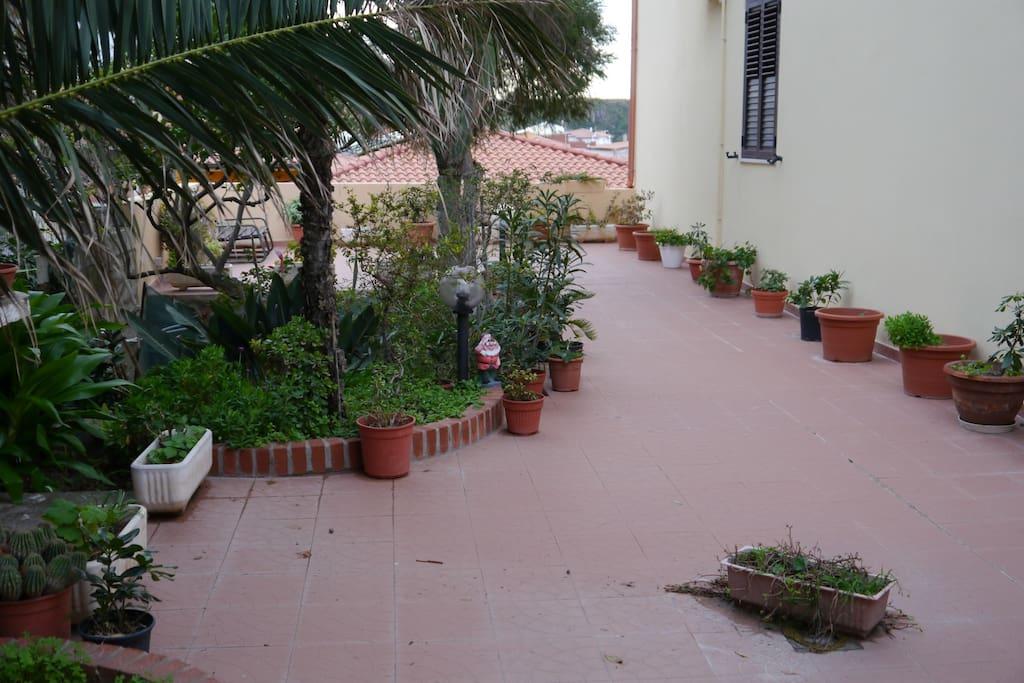 Veranda, open space