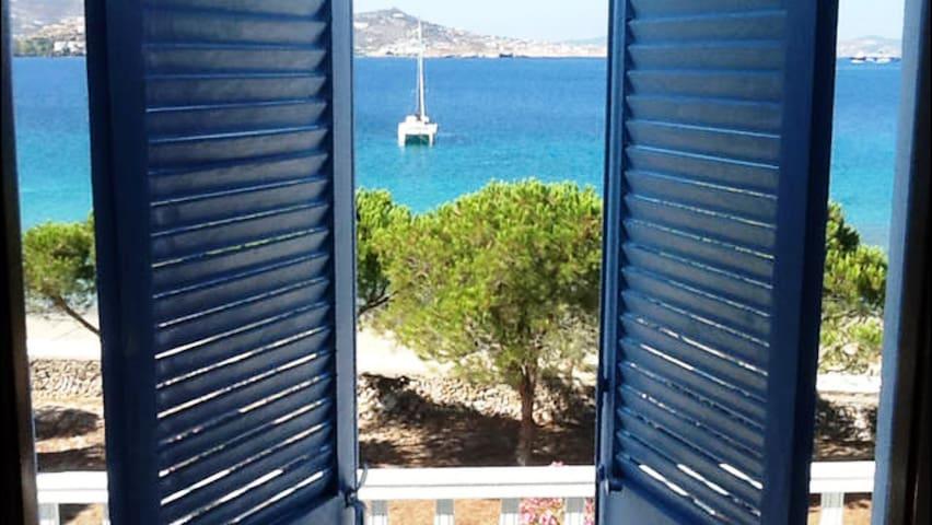 *BEACHFRONT STUDIO* for 2, Krios beach, Paros - Krotiri - Apartamento