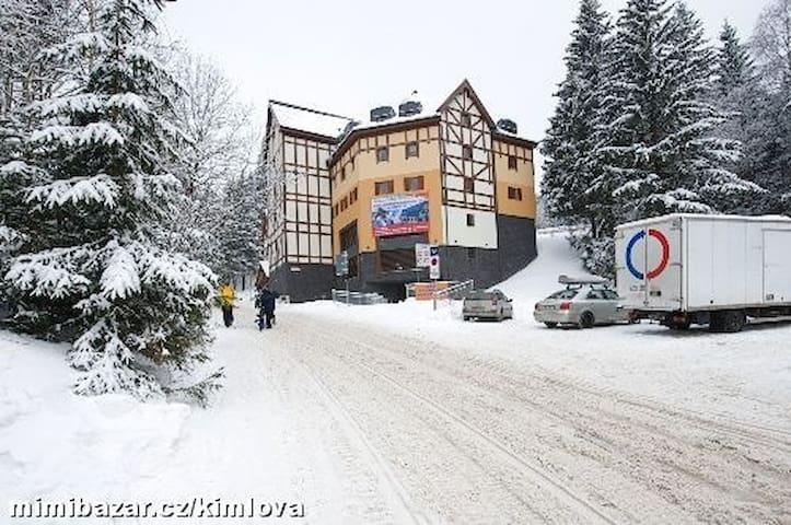 horský apartmán v Peci pod Sněžkou