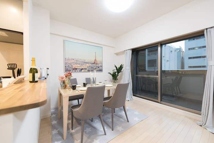 Brand new see-view apartment available now FE15 - Minato-ku - Lägenhet