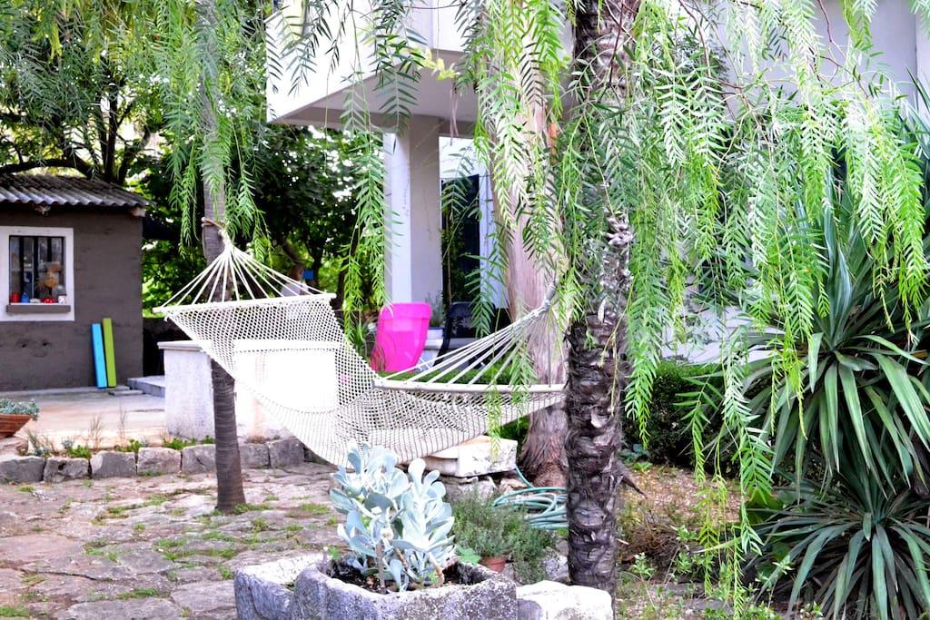 Beautiful garden in Kastel Stafilic