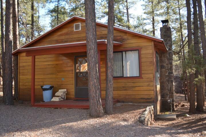 Whispering Pines Resort Cabin 10