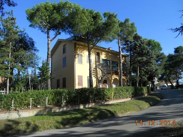 Grande casa con giardino