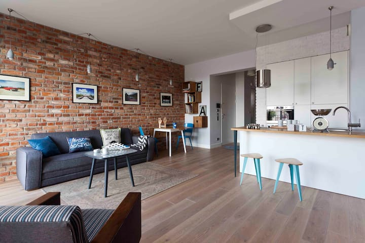 Gallery 4 Apartment No8 - art & loft - Varsavia - Appartamento