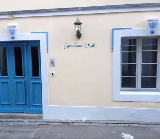Romantisches Zimmer im blauen Hahn - Steckborn - House