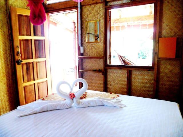 Asama bungalow 1 ( Modern Bungalow with fan )