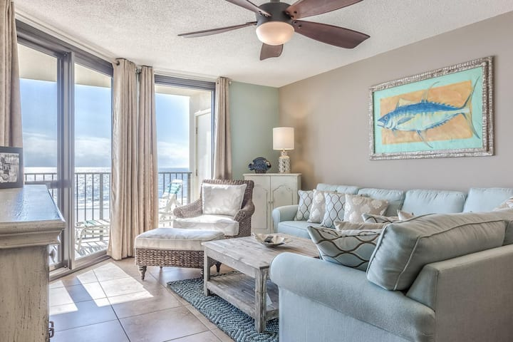 GREAT RATES! BOOK NOW AND SAVE!*BEACH FRONT*9th Floor Unit 6912
