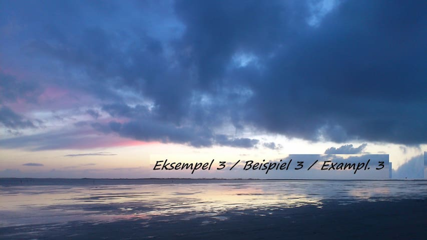 Rømø, Havneby ( Eksempel 3 ) - Rømø - Ev