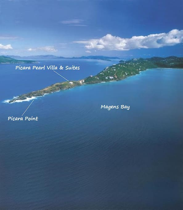Picara Pearl - Villa closest to Picara Point for your privacy and scenic views!