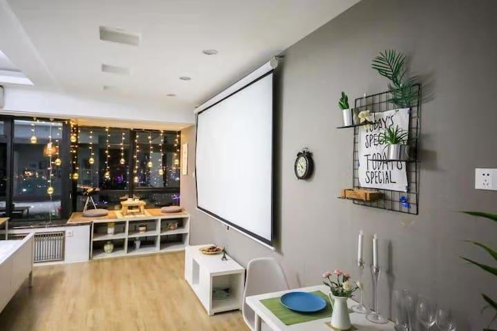 『SHEN'S HOUSE | 微风』城市中心中山广场|北欧风高层轻奢海景公寓