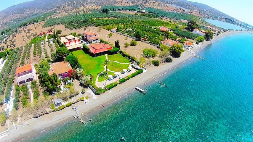 Argolis beachfront villa - Thermisia - Huis
