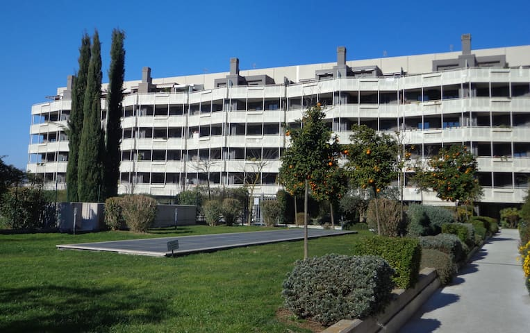 Flat with swimming pool in Rome - Roma - Daire