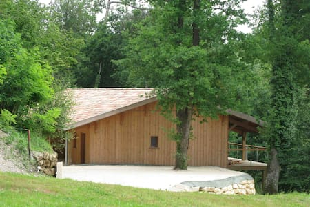 Wood house in the heart of nature - Les Artigues-de-Lussac - Dom