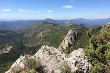 A hike above La Roche sur le Buis