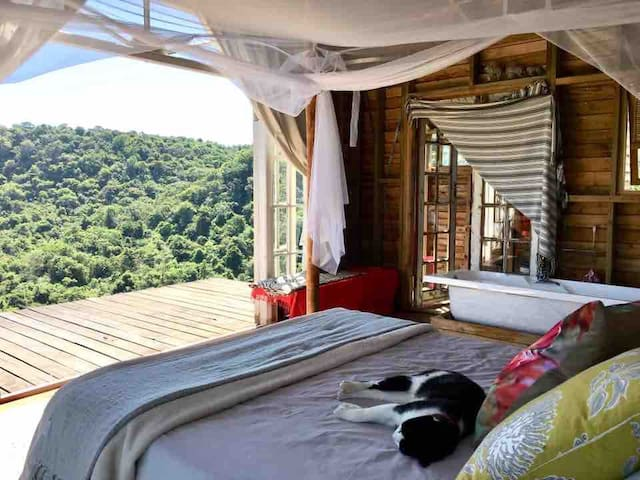 Ntambanane Getaway  Rustic-chic cabins with a view