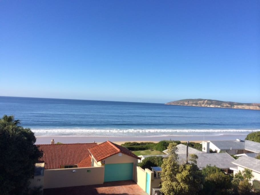 view from patio towards Robberg