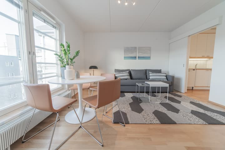 In the heart of the city: 1BR apartment w/ balcony