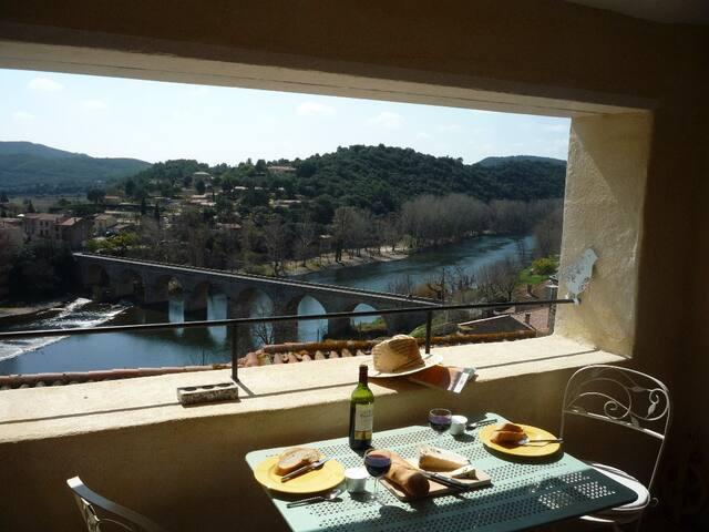 Le Guet village house with a view