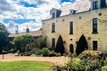 Manoir Savonniere Дoмaine Anjou FR - House