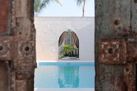 Bedroom by the Pool for 2 - San Miguel de Allende - Casa