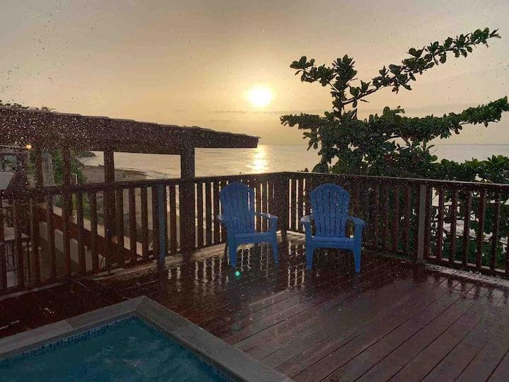 Sunset Terrace (Beach Front W/Pool) Aguada Del Mar