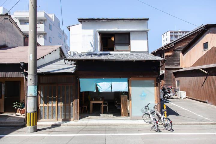 呉服町徒歩10分/Fukuoka Guesthouse SHIP/男女混合ドミトリー