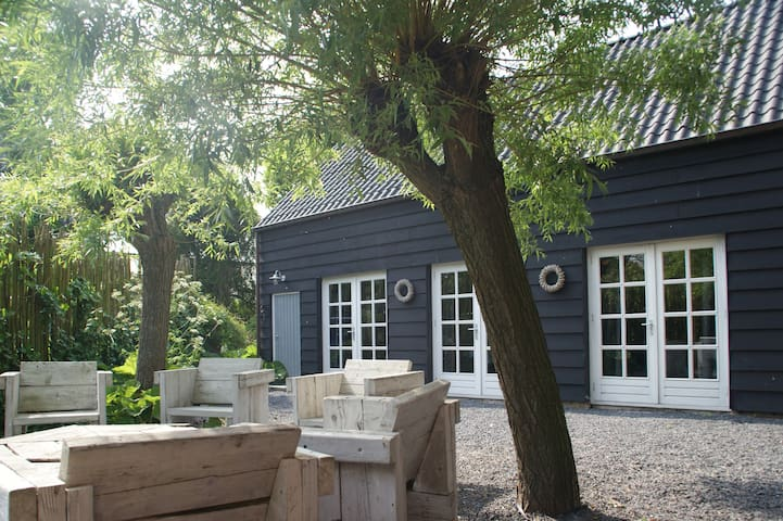 Landelijk gelegen vakantiewoning - Westdorpe - Kisház