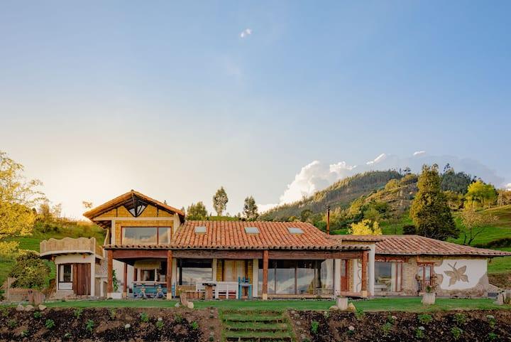 Hermoso Alojamiento Rural con vista espectacular