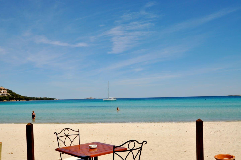 Marinella beach.
