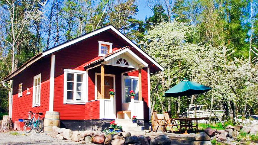 Archipelago cottage with seaview!