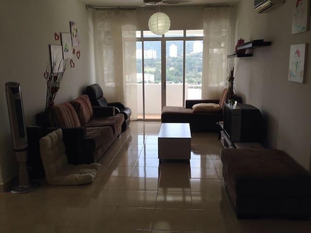 A 3BR home near Penang airport&PISA - Bayan Lepas - Apartemen