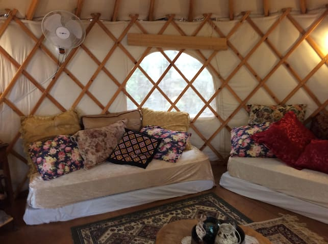 Upgraded Yurt with Ocean View - Hanita - Yurta