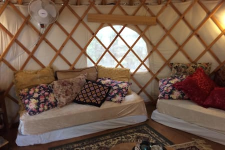 Upgraded Yurt with Ocean View - Hanita