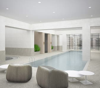 50 floor new master room private bath free pool - Melbourne