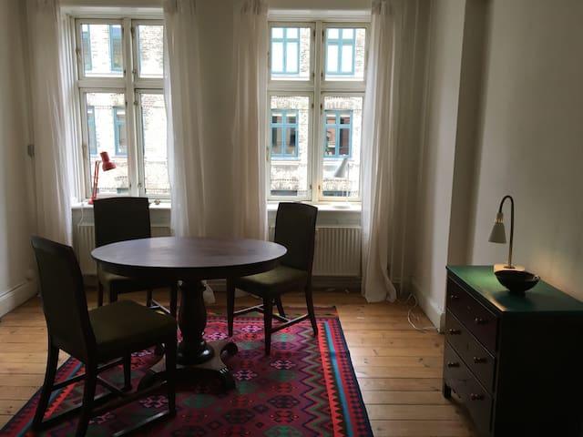 Charming little aparment in central Copenhagen