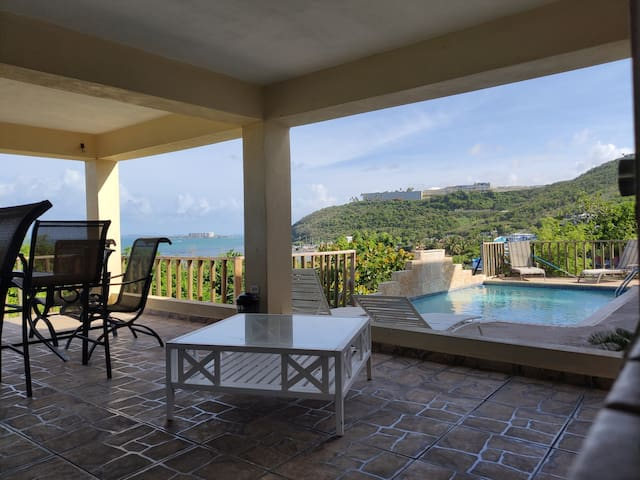 Oceanview Sunrises 2 bedroom Apartment Las Croabas