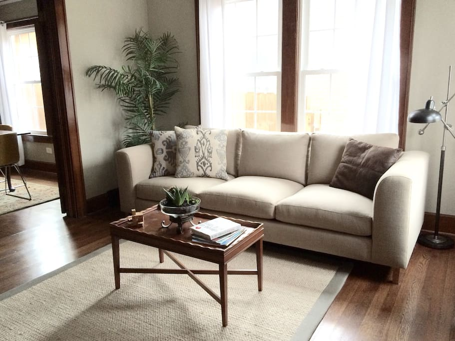 Your cozy living room awaits!