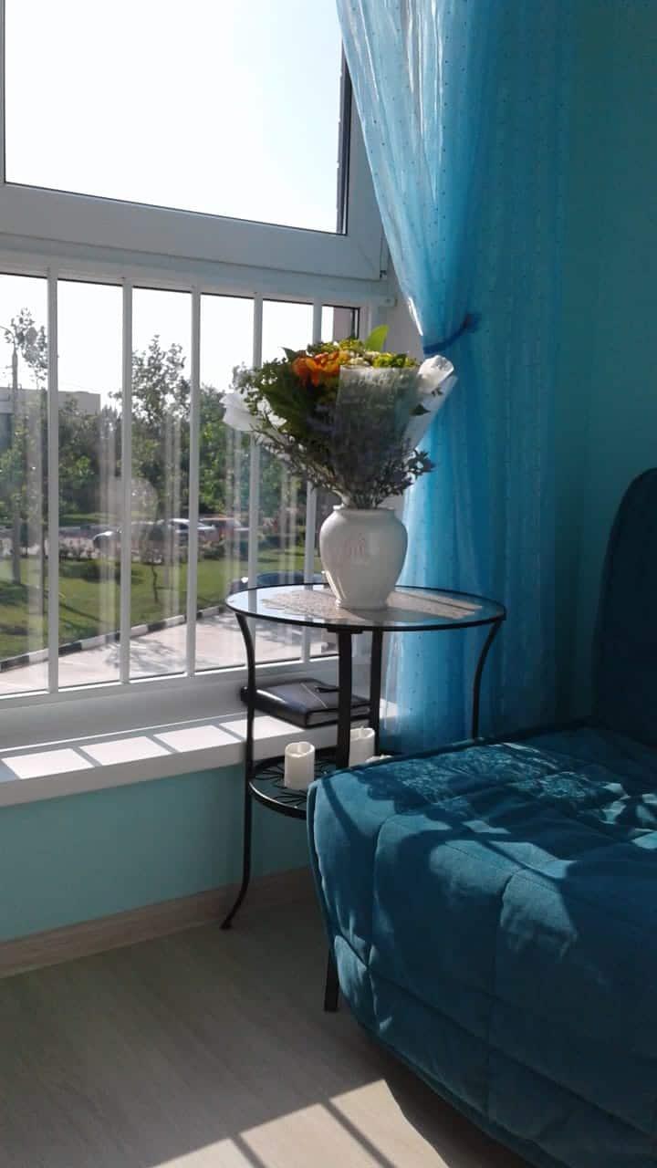 Сдается 2 комнатная квартира с видом на море
