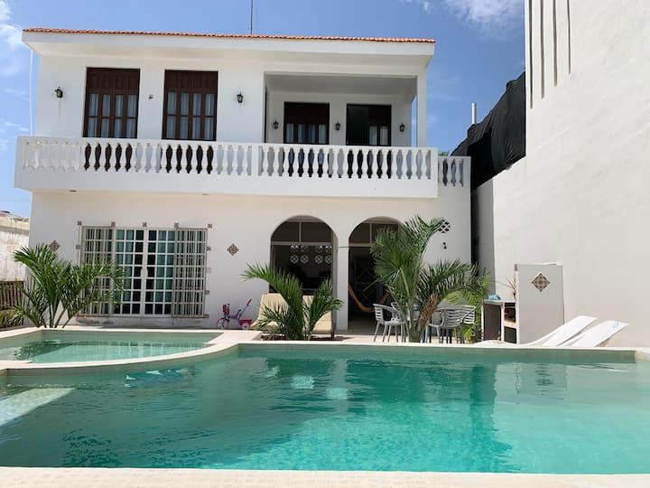 CasaTRES.ChuburnáPuerto,Yucatán. Clean,comfy,quiet
