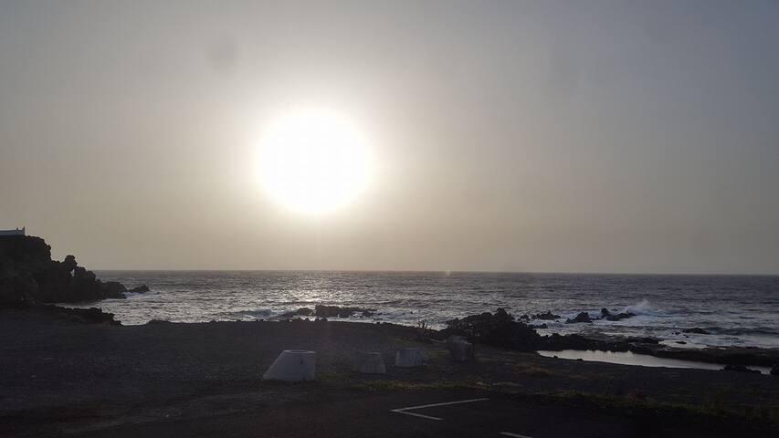 Puerta de El oceano, ocean's door - La Jaca - Byt