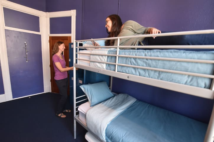 Inexpensive co-living space in Gaslamp Quarter